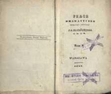 Prace drammatyczne tłumaczone i oryginalne. T. 10