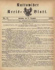 Kattowitzer Kreisblatt. 1880, nr 51