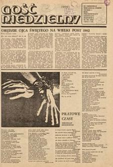 Gość Niedzielny, 1982, R. 59, nr1