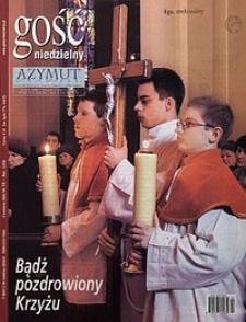 Gość Niedzielny, 2003, R. 80, nr14