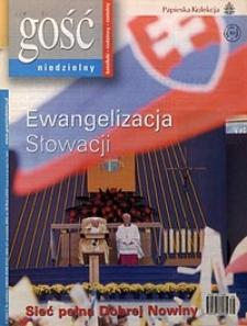Gość Niedzielny, 2003, R. 80, nr38