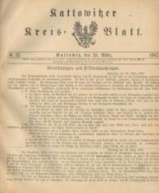 Kattowitzer Kreisblatt. 1887, nr 12