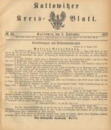 Kattowitzer Kreisblatt. 1887, nr 35