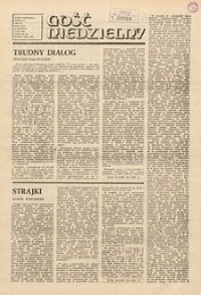 Gość Niedzielny, 1988, R. 65, nr36