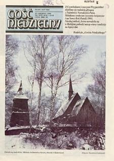 Gość Niedzielny, 1990, R. 67, nr51/52