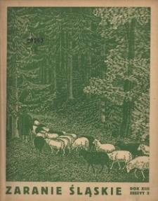 Zaranie Śląskie, 1937, R. 13, z. 3