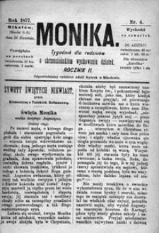 Monika, 1877, R. 2, nr 4