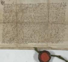 1450, Przemysław książę cieszyński sprzedaje Mikołajowi z Dębowca wieś Grodziszcze