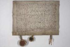 1452, Bolesław książę cieszyński odstępuje swemu bratu Wacławowi połowę miasta Bytomia i ziemi bytomskiej