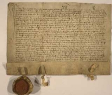 1452, Wacław książę cieszyński odstępuje swemu bratu Bolesławowi niektóre wsie położone w okolicach Bielska, w zamian za połowę miasta Bytomia i ziemi bytomskiej