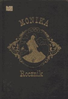 """Spis przedmiotów zawartych w roczniku II """"Moniki"""" [1877/1878]"""
