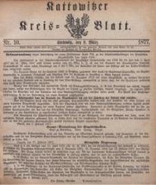 Kattowitzer Kreisblatt, 1877, nr10