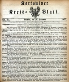 Kattowitzer Kreisblatt, 1877, nr39