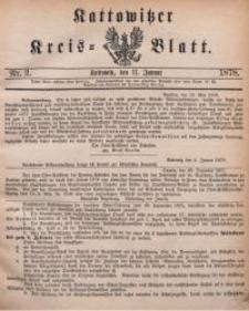 Kattowitzer Kreisblatt, 1878, nr2
