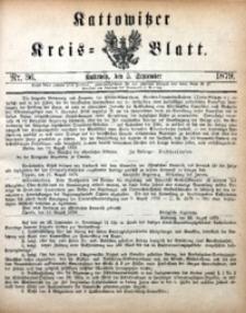 Kattowitzer Kreisblatt, 1879, nr36