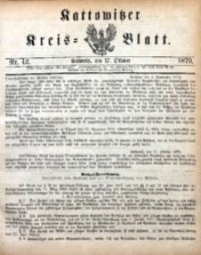 Kattowitzer Kreisblatt, 1879, nr42