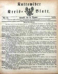 Kattowitzer Kreisblatt, 1879, nr51