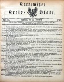 Kattowitzer Kreisblatt, 1879, nr52