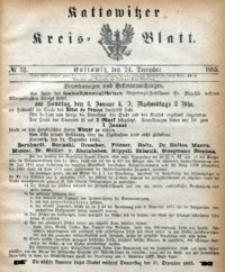 Kattowitzer Kreisblatt, 1885, nr52