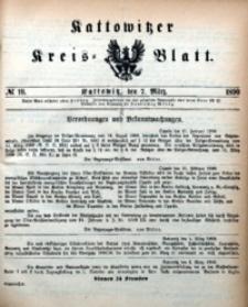 Kattowitzer Kreisblatt, 1890, nr10