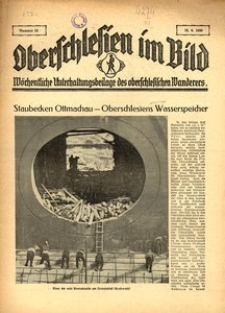 Oberschlesien im Bild, 1930, nr 33