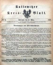 Kattowitzer Kreisblatt, 1896, nr11