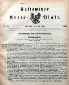 Kattowitzer Kreisblatt, 1896, nr22