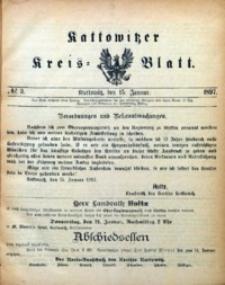 Kattowitzer Kreisblatt, 1897, nr3