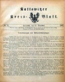 Kattowitzer Kreisblatt, 1897, nr51