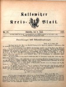 Kattowitzer Kreisblatt, 1899, nr23