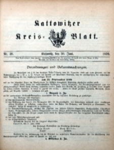 Kattowitzer Kreisblatt, 1899, nr26