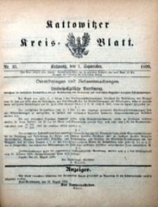 Kattowitzer Kreisblatt, 1899, nr35
