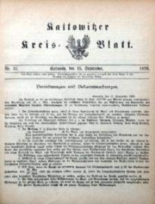 Kattowitzer Kreisblatt, 1899, nr37
