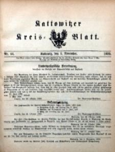Kattowitzer Kreisblatt, 1899, nr44
