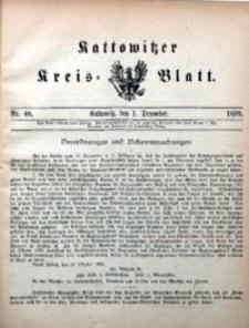 Kattowitzer Kreisblatt, 1899, nr48