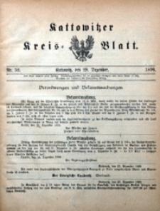 Kattowitzer Kreisblatt, 1899, nr52
