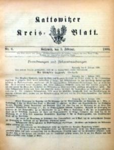 Kattowitzer Kreisblatt, 1900, nr6
