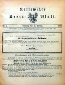 Kattowitzer Kreisblatt, 1900, nr7
