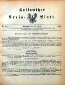 Kattowitzer Kreisblatt, 1900, nr15