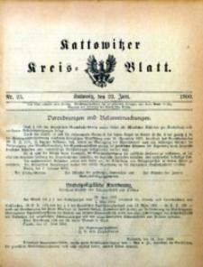 Kattowitzer Kreisblatt, 1900, nr25