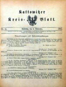 Kattowitzer Kreisblatt, 1900, nr45