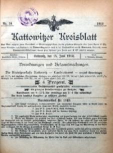 Kattowitzer Kreisblatt, 1912, nr24