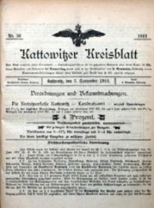 Kattowitzer Kreisblatt, 1912, nr36