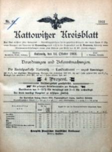 Kattowitzer Kreisblatt, 1912, nr41