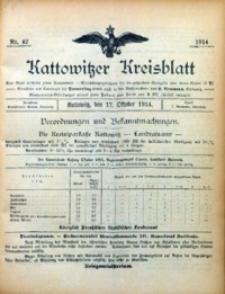 Kattowitzer Kreisblatt, 1914, nr42