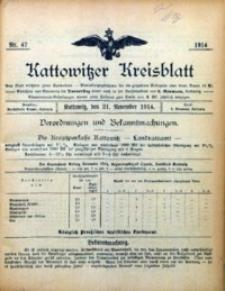 Kattowitzer Kreisblatt, 1914, nr47