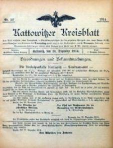 Kattowitzer Kreisblatt, 1914, nr52