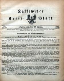 Kattowitzer Kreisblatt, 1892, nr5