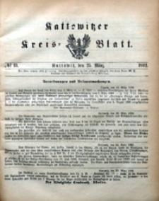 Kattowitzer Kreisblatt, 1892, nr13