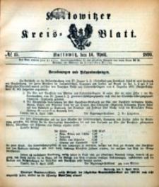 Kattowitzer Kreisblatt, 1893, nr15